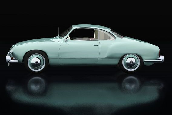 Volkswagen Karmann Ghia Zijaanzicht