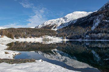 Le lac de Davos sur Peter van Dam