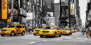 New Yorks Yellow Cabs van Hannes Cmarits