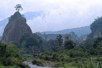 Lanschap op Sumatra van Gert-Jan Siesling