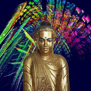 Buddha - Rainbow van Doris Kroos
