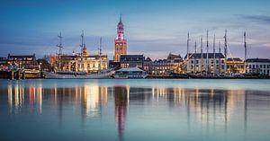Façade de la ville de Kampen sur Gerrit Veldman
