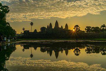 Angkor Wat, Cambodge sur Peter Schickert