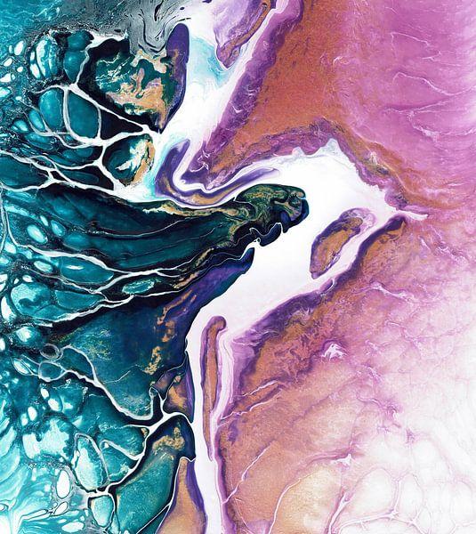 Pink Island von Ideka - Inge De Knop
