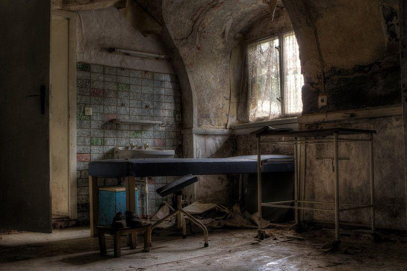 Het verlaten bed  van Bergkamp Photography