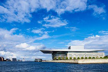 Neue Oper in der Stadt Kopenhagen, Dänemark von Rico Ködder