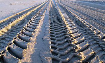 Traces in de sand