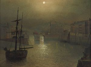 Whitby, John Atkinson Grimshaw