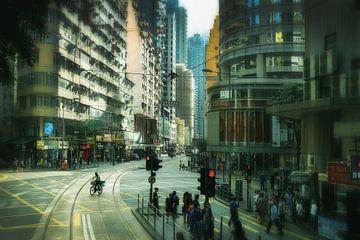 Hongkong down town van Bram Busink