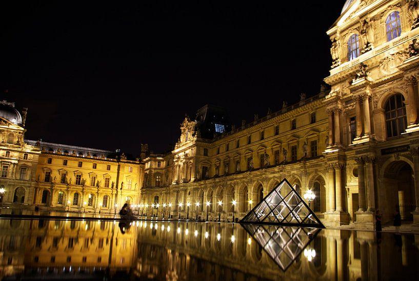 Louvre museum Parijs van KaHoo Wong