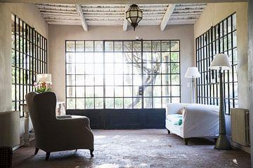 Mediterranean conservatory with lattice windows sur BeeldigBeeld Food & Lifestyle