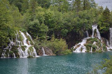 Plitvice watervallen van Eveline Vermeulen