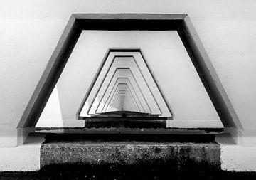 Een kijkje onder Zeelandbrug  sur Ardi Mulder