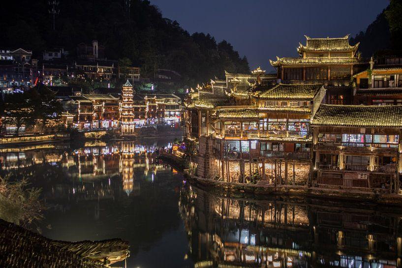 Traditioneel China in Fenghuang van Fulltime Travels