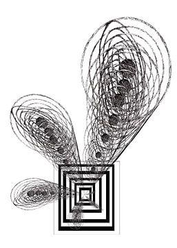 Het zonnestelsel dat naar binnen gezogen wordt van Wouter Springer
