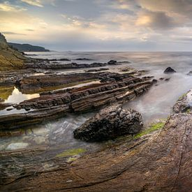 Corsica Coast Panorama van Wojciech Kruczynski