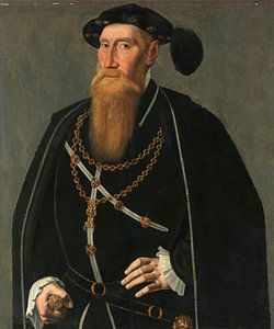 Porträt von Reinoud III van Brederode, Jan van Scorel