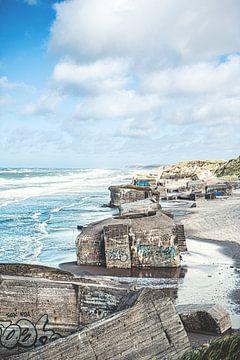 Küstenbatterie Furreby Nord-Dänemark von Florian Kunde