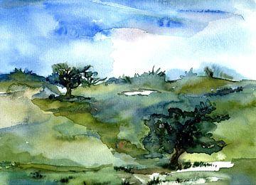 Bäume 1 von Claudia Gründler