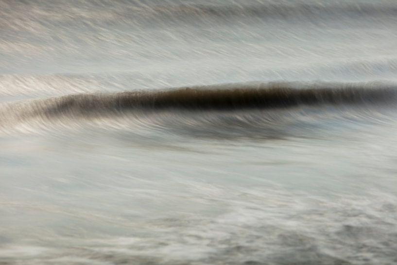 Wellen im Sonnenlicht von Rene  den Engelsman