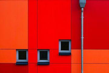 Rouge et orange sur Joachim Neumann