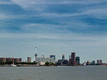 Skyline Rotterdam van Rinke Velds