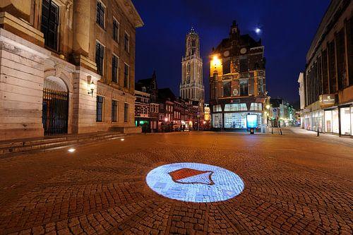 Stadhuisbrug in Utrecht van