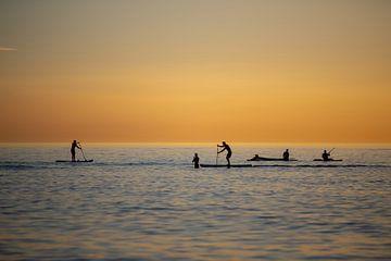 Wassersport Stand up Paddeln von Tanja Riedel