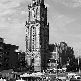 Martinitoren Groningen (Nederland) van Sandra de Heij