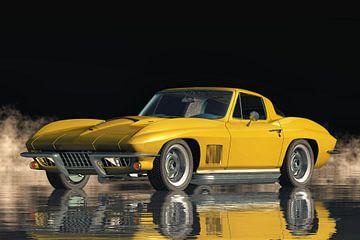 Chevrolet Corvette Stingray 427 A Classic Car van Jan Keteleer