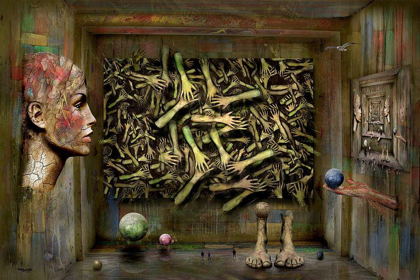 Raum Abendteuer Surrealismus von Stefan teddynash