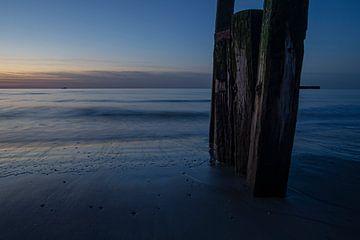 palen op het strand van Joanke Fotografie