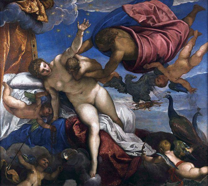 Tintoretto, Der Ursprung der Milchstraße - 1575 von Atelier Liesjes