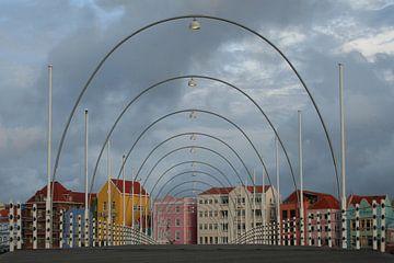 Koningin Emmabrug in Willemstad van Anouk Davidse