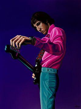 Pete Townshend Schilderij von Paul Meijering