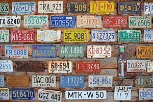 Nummerplaten van Susan Lambeck