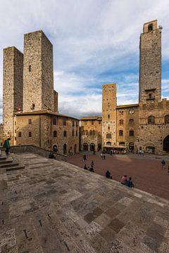 Die Türme von San Gimignano von Denis Feiner