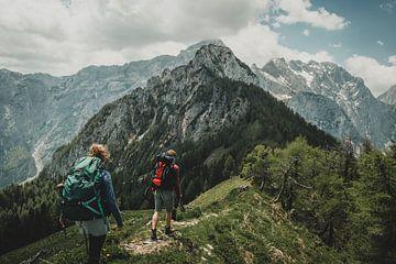 Bergwanderer von Paulien van der Werf