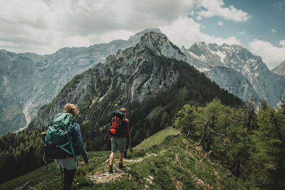 Bergwandelaars van Paulien van der Werf