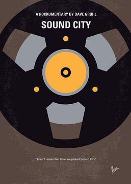 No181 My Sound City minimal movie poster van Chungkong Art