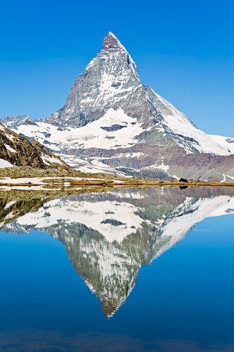 Spiegeling Matterhorn van Anton de Zeeuw