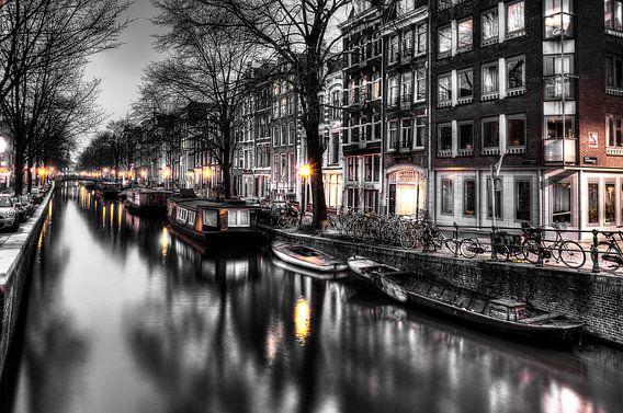 Amsterdamse grachten van Wouter Sikkema