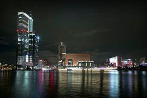 Wilhelminaplein by night
