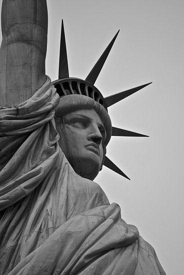 New York City - Vrijheidsbeeld - USA van Maurits Simons
