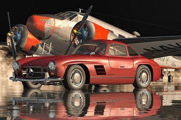 Der Mercedes 300SL Flügeltürer der härteste Oldtimer von Jan Keteleer