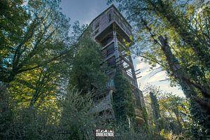 Alte Betonfabrik, von der Natur übernommen. von Het Onbekende