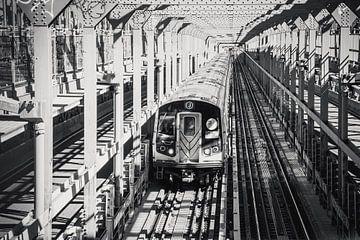 New York metro subway van Michèle Huge