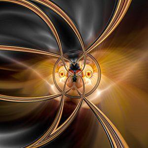 Phantasievolle abstrakte Twirl-Illustration 109/8