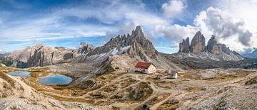 Drie pieken Zuid-Tirol van Achim Thomae