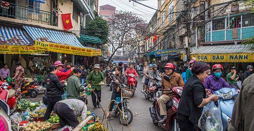 Hanoi Straatbeeld van Studio W&W